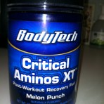 Body Tech Critical Aminos XT
